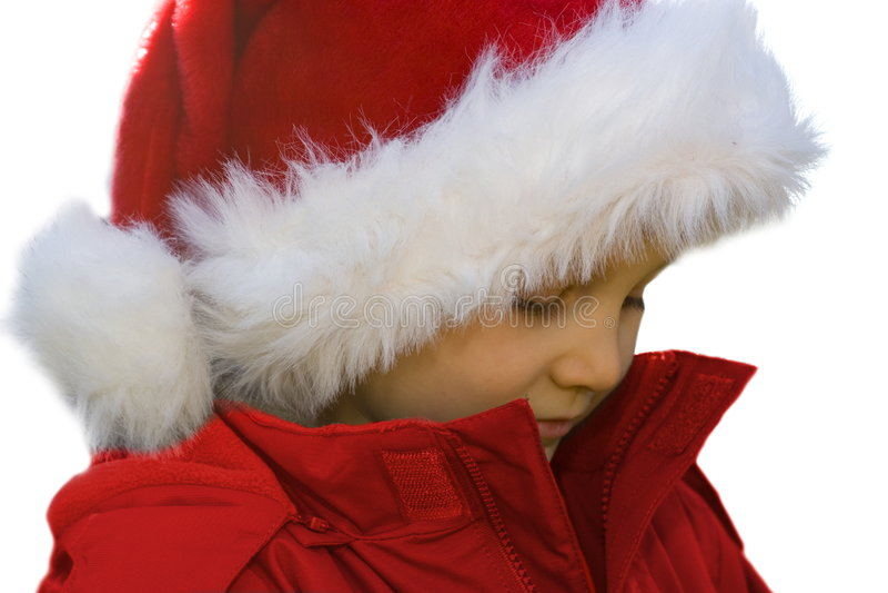 Soulful Santa. royalty free stock image