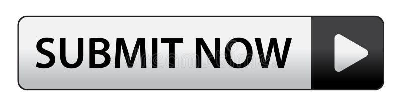 Soumettez maintenant le bouton illustration de vecteur