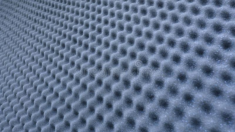 Sound absorber sheet grey color. royalty free stock images