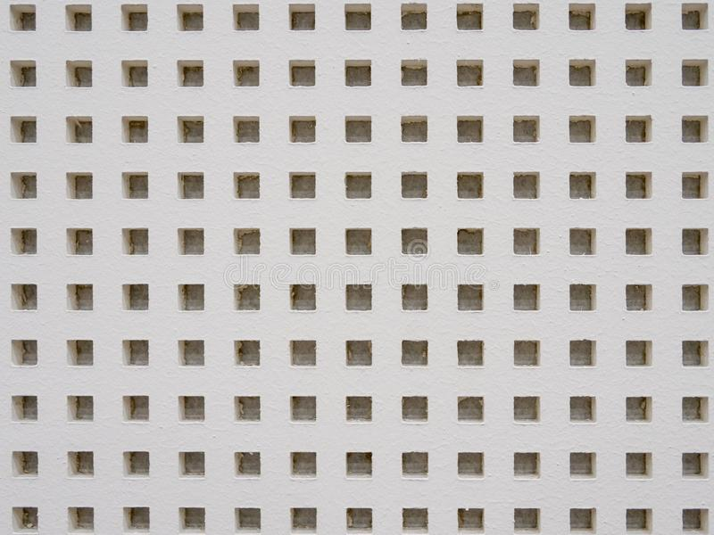 Sound absorber wall. In seminar room stock photography