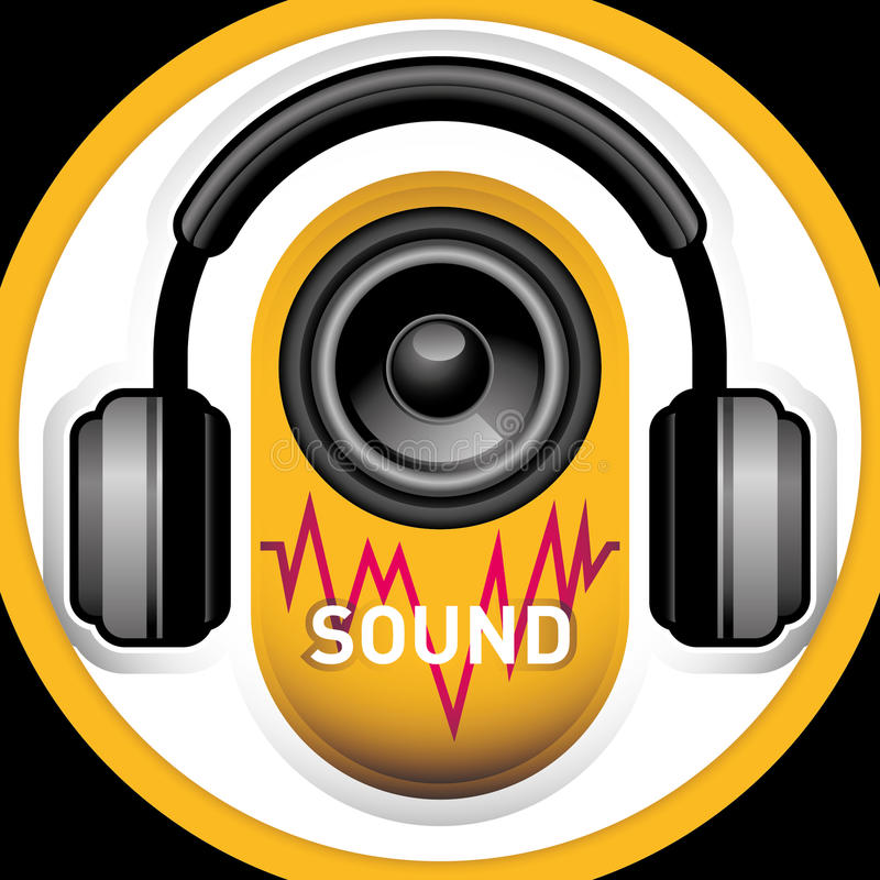 Sound Accessories. Royalty Free Stock Images