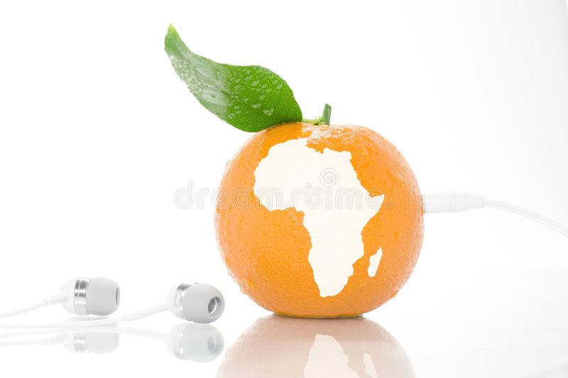 Download Sound of Africa stock photo. Image of planet, radio, fruit - 5494936