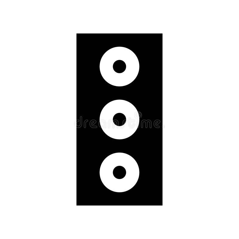 Sound audio speaker multimedia logo or icon illustration vector illustration