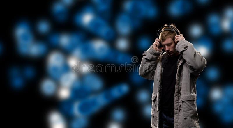 sound avstånd för dj arkivbilder