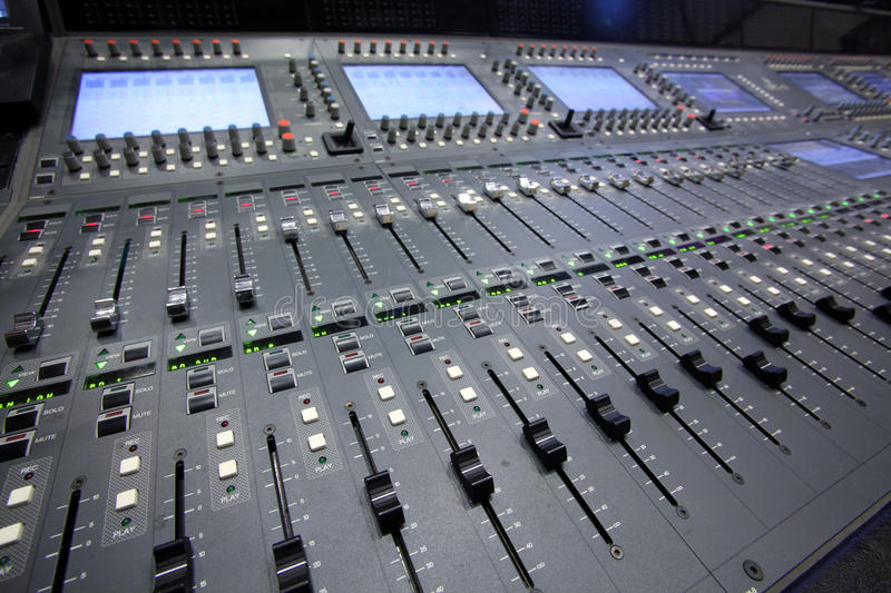 Sound board stock photography