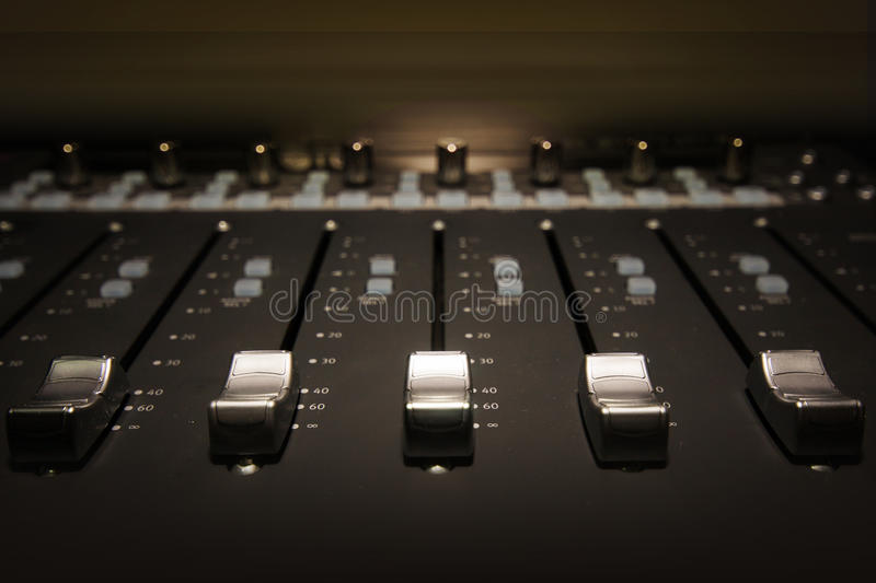 Download Sound Board stock image. Image of up, consoling, keyboard - 33023247
