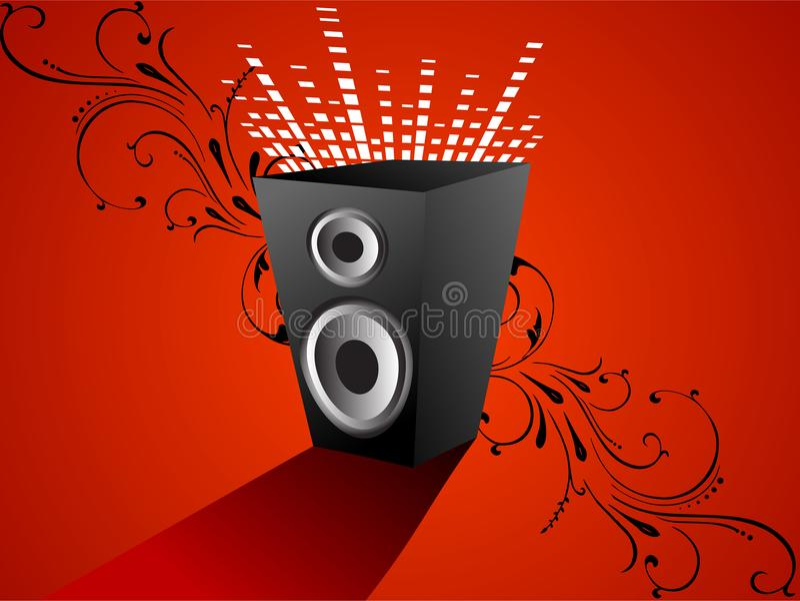 Sound box stock photo