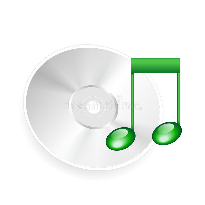 Sound Cd , Dvd Royalty Free Stock Photography