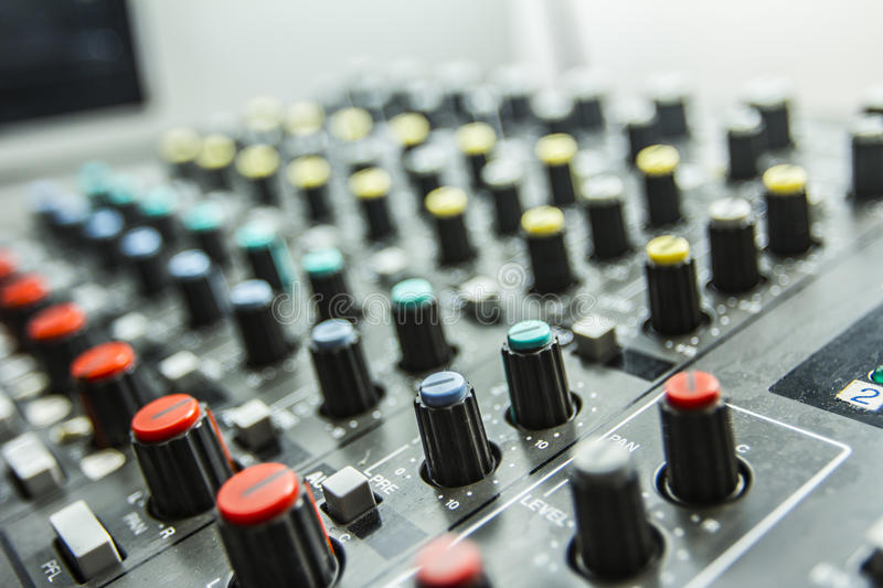 Download Sound control by DJ stock photo. Image of engineer, entertainment - 25996628