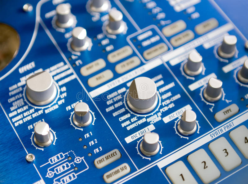Sound controller royalty free stock photos