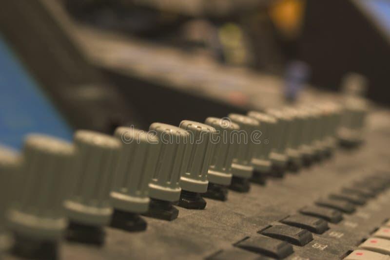 Sound Desk royalty free stock image