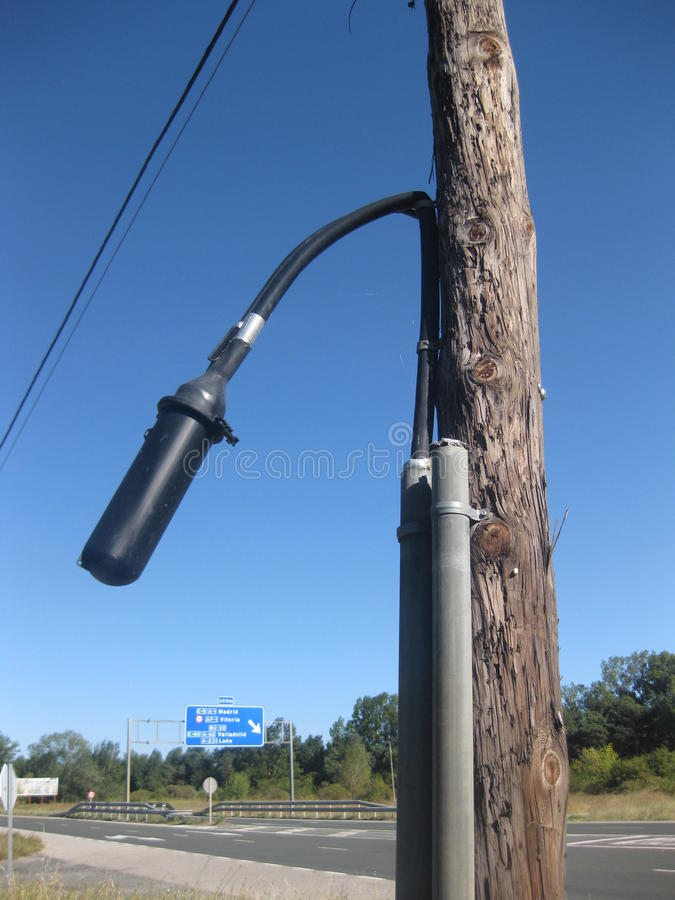 Sound detector .. stock photography