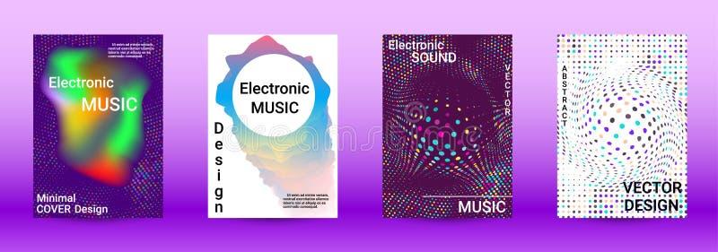 Sound flyer stock illustration