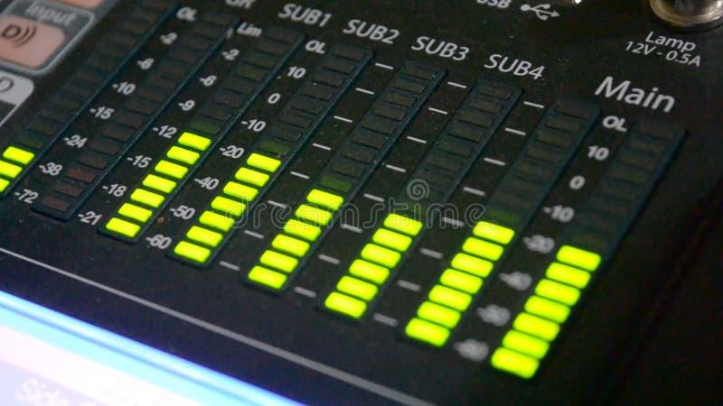 Sound level meter equalizer