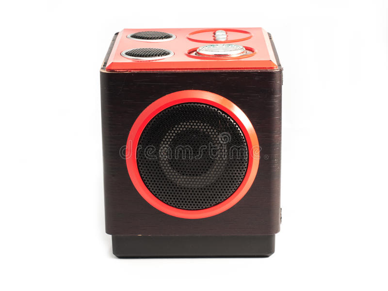 Download Sound loud speaker stock photo. Image of device, rock - 26892044