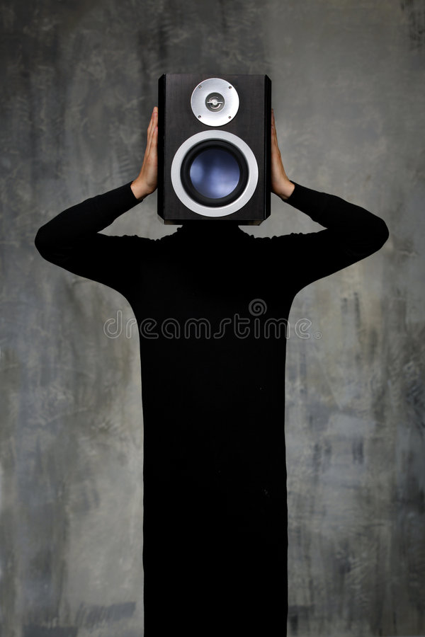 Sound man stock images