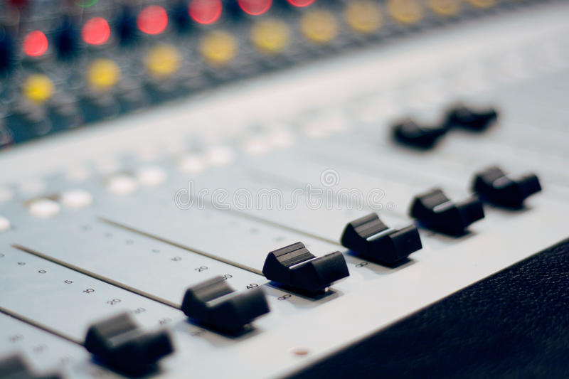 Sound mix royalty free stock image