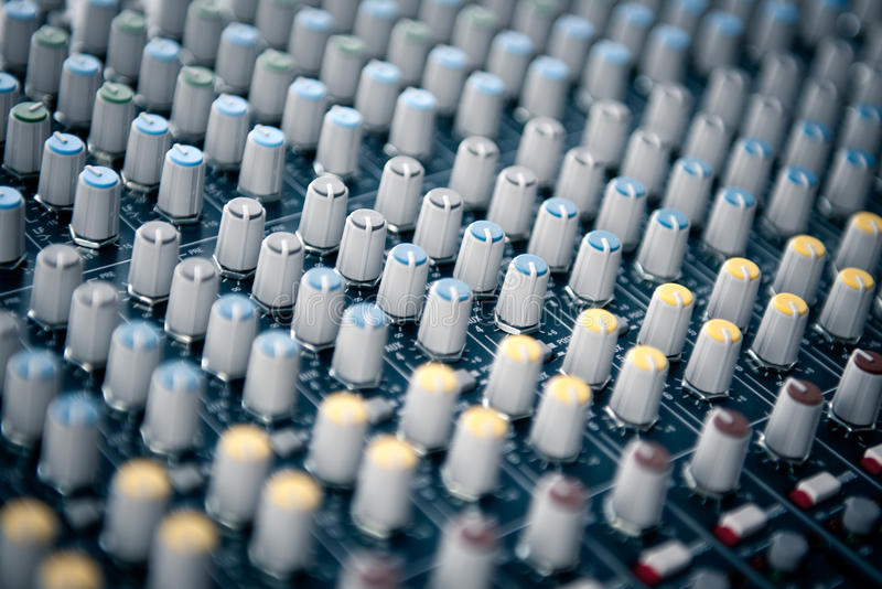 Download Sound mixer stock image. Image of device, electronics - 16564717