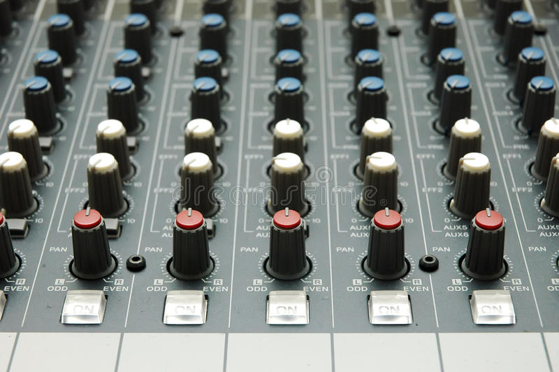 Download Sound mixer stock image. Image of acoustic, graphic, electronic - 16796293