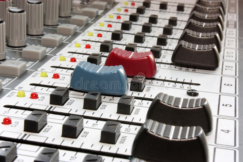 Download Sound mixer stock photo. Image of media, variation, professional - 28804612