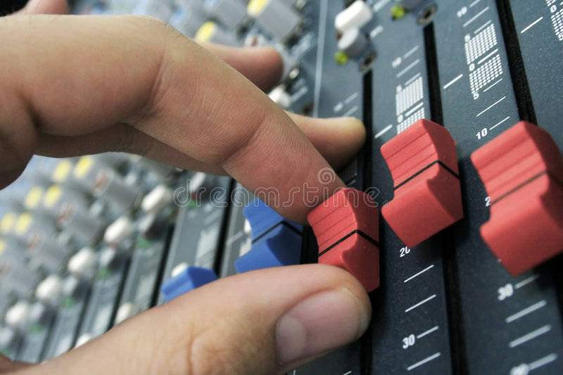 Download Sound mixer stock image. Image of signal, sound, high - 4030281