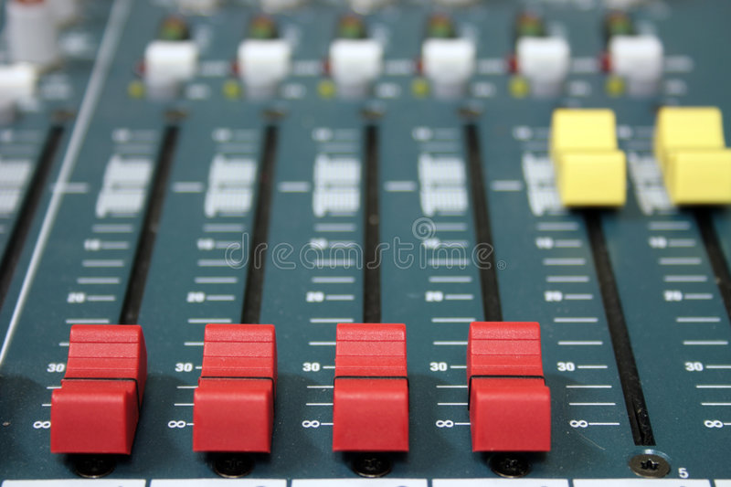 Download Sound mixer stock photo. Image of desk, board, signal - 8865858