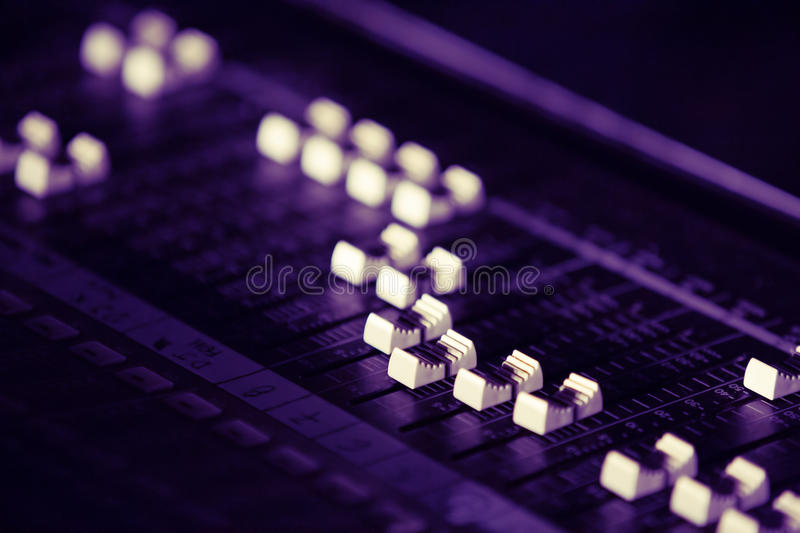 Download Sound Mixer Board Royalty Free Stock Photography - Image: 35078777