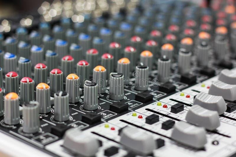 Sound mixer royalty free illustration
