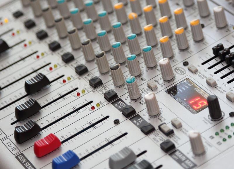 Sound Mixer vector illustration