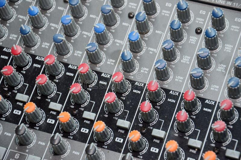 Sound Mixer Stock Images
