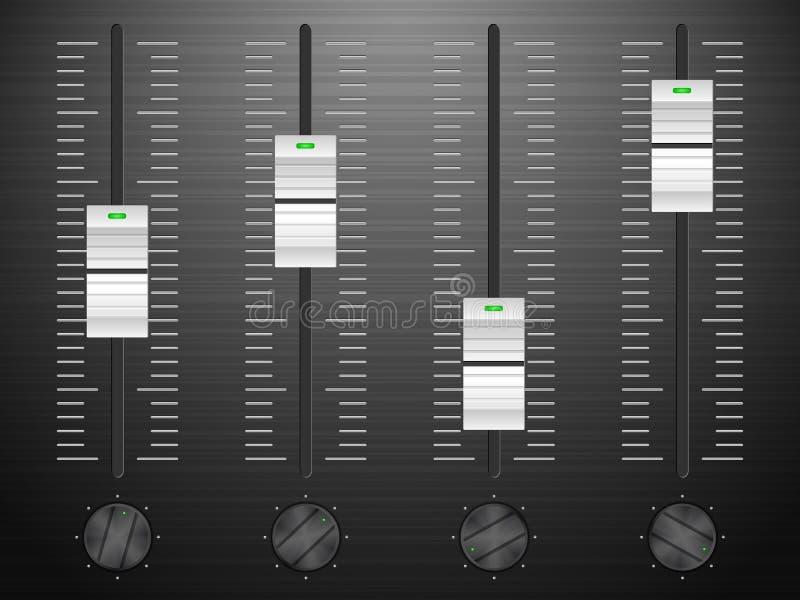 Download Sound mixing stock image. Image of equalizer, balance - 26991325
