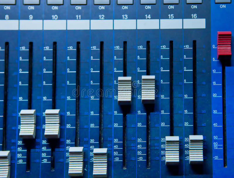 Download Sound Mixing Console Royalty Free Stock Images - Image: 28746849