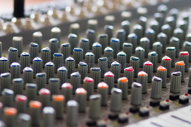 Download Sound Mixing Console Royalty Free Stock Images - Image: 32229999