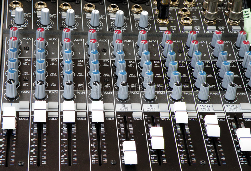 Download Sound And Music Mixer Of DJ Stock Photography - Image: 6268752