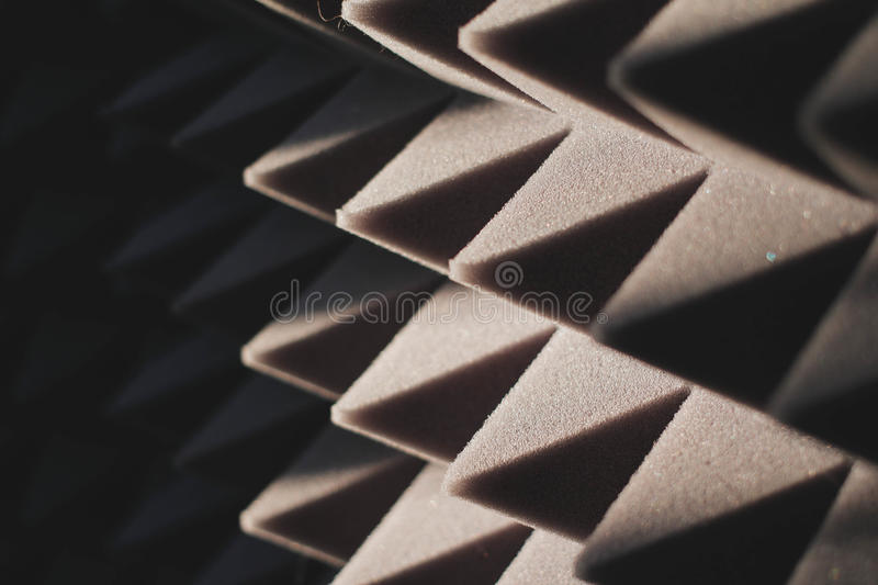 Sound-proof material stock photos