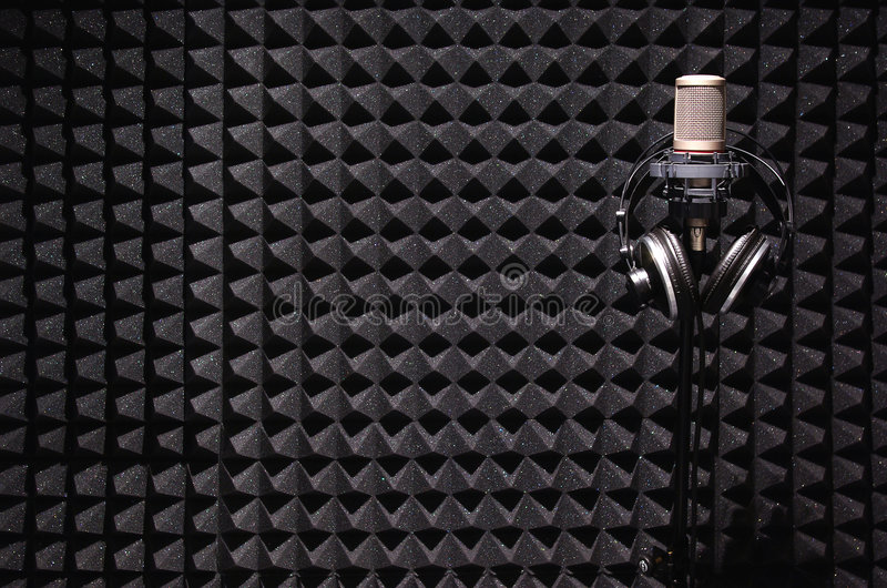 Download Sound recording studio stock image. Image of borders, soft - 8839063