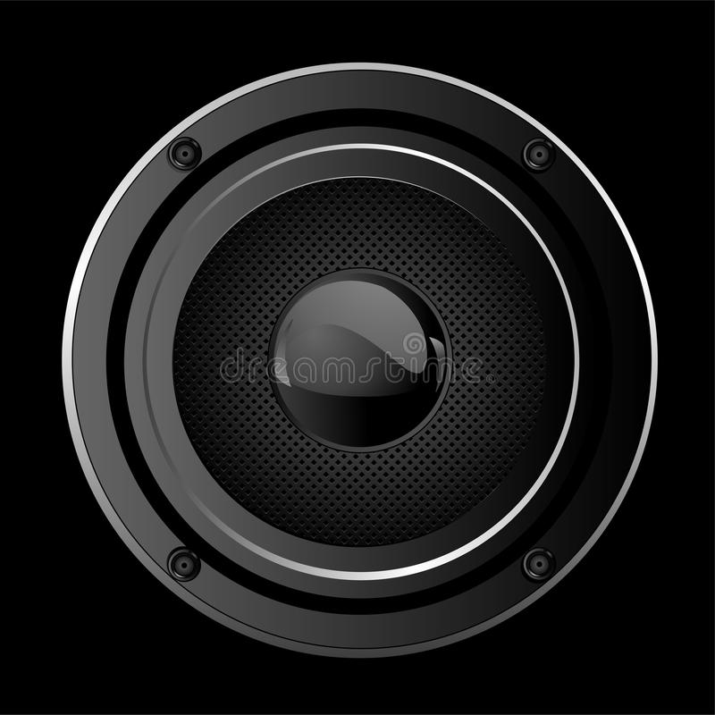 Download Sound Speaker stock vector. Image of circle, object, computer - 20177461