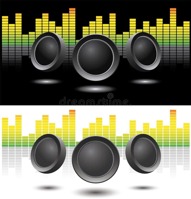 Download Sound speakers stock vector. Image of dynamics, loudspeaker - 11012359