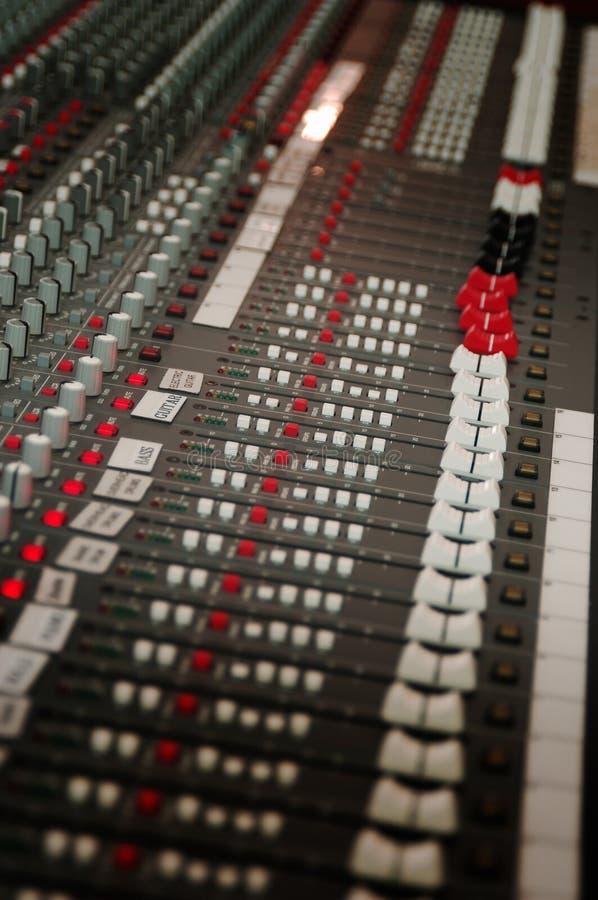 Sound Studio Mixer Stock Photography