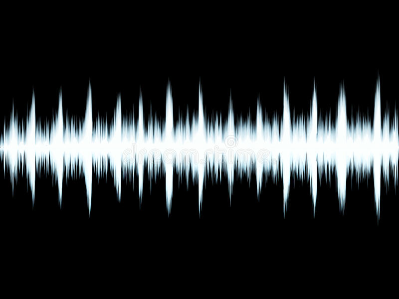 Sound symbol stock illustrationer