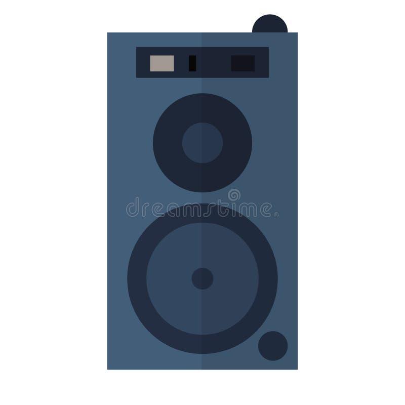 Free Sound System Flat Design Royalty Free Stock Image - 86409876