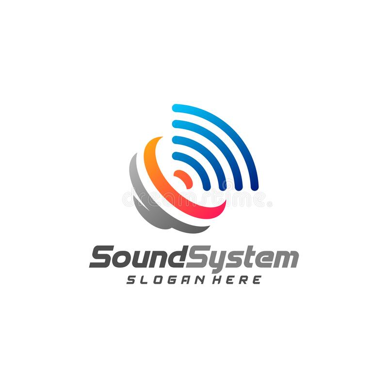 Free Sound System Logo Design Vector, Sound Logo Template, Concept Design Creative, Icon Symbol Royalty Free Stock Photo - 190697945