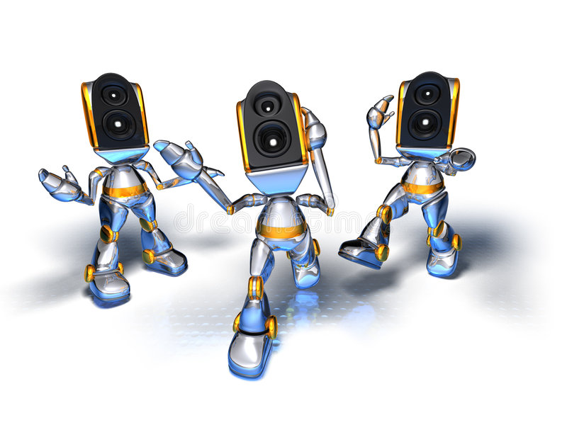 Роботы звуки скачать