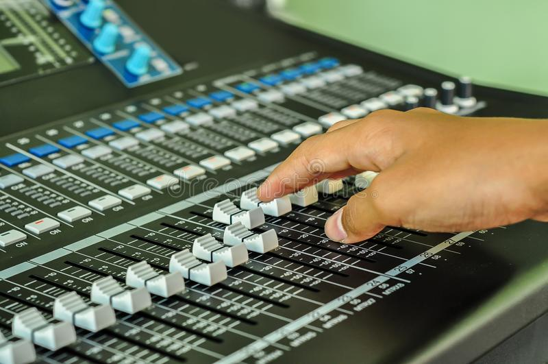 Audio Equipment, DJ, Radio, Video Game, Headphones royalty free stock image