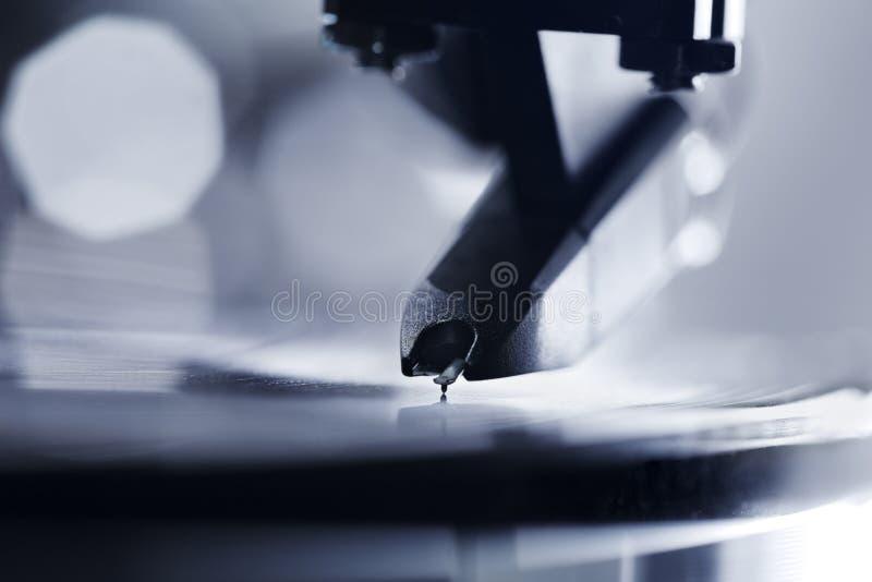sound vinyl royaltyfria foton