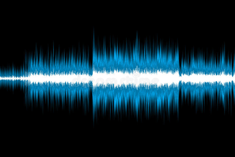 Sound Wave Royalty Free Stock Photo