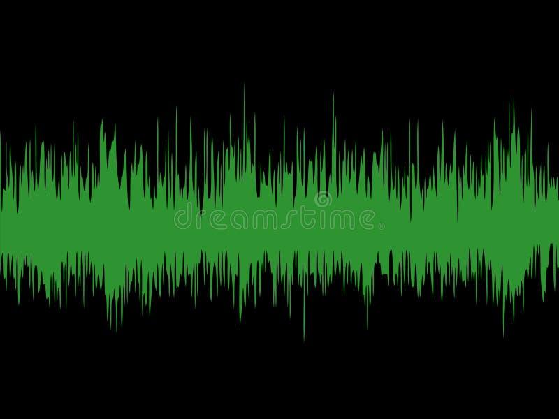 sound wave royaltyfri illustrationer