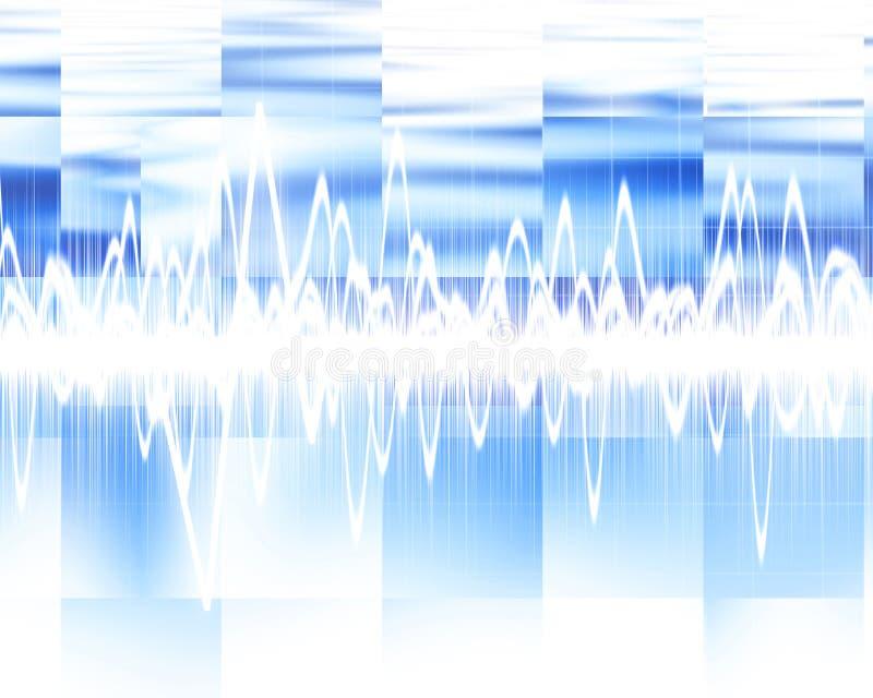 Sound wave royalty free illustration