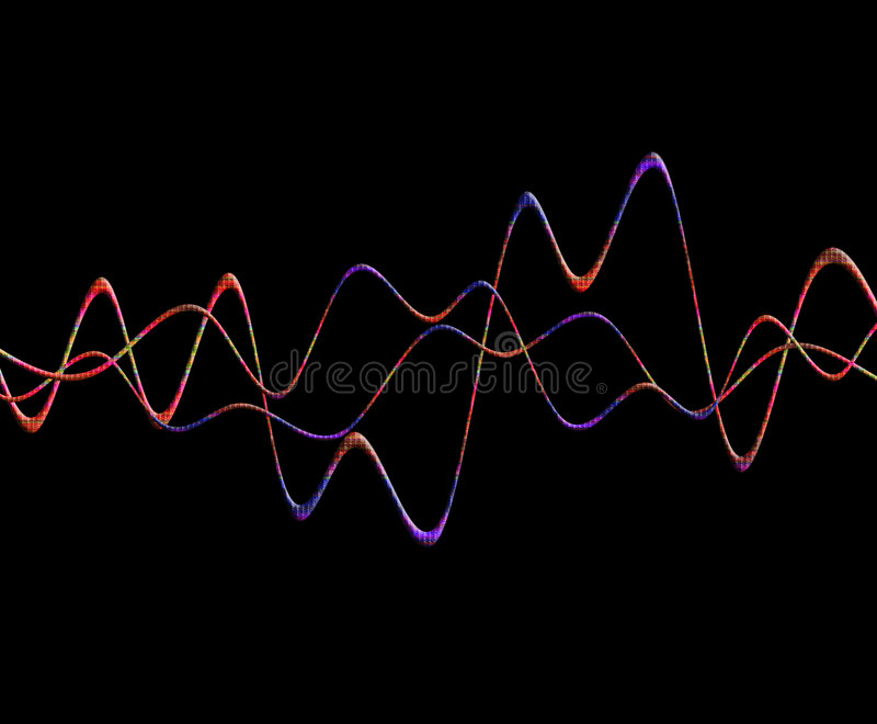 Sound Wave 5 Royalty Free Stock Photography