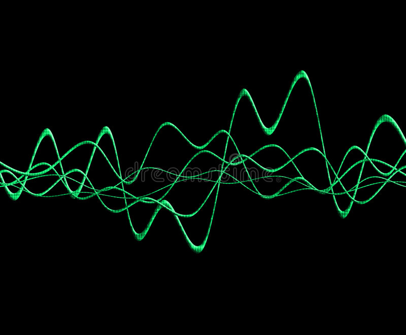 Sound Wave 6 Stock Photo